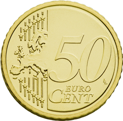 50 eurocent slovakia for Moneta 50 centesimi